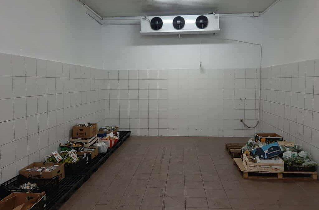 Naprawa komory chłodniczej w banku żywności w Zabrzu