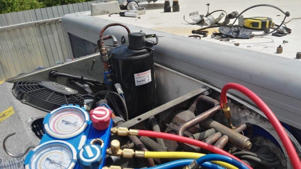 klimatyzacja autobus ciężarówka maszyny rolnicze